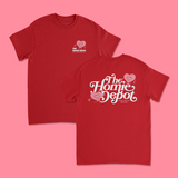 LOVE T-SHIRT (RED)