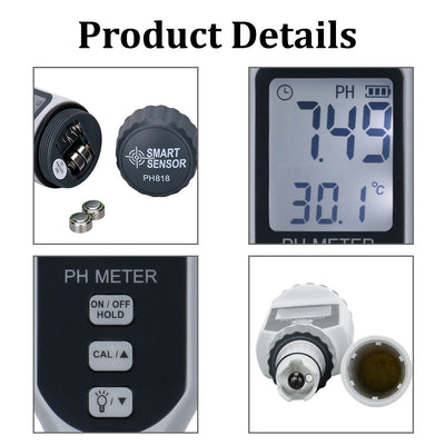 Digital TDS pH Water Tester Meter