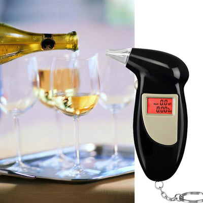 Professional Key Chain Police Digital Breath Alcohol Tester
