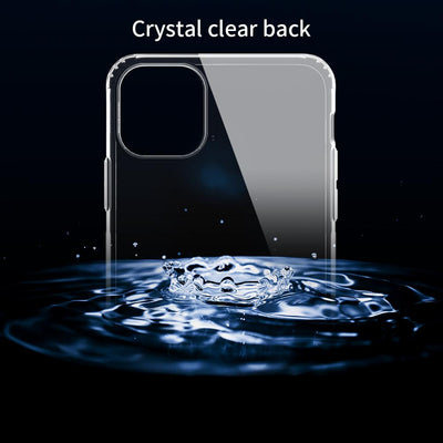 Transparent Clear Soft Back Cover For iPhone 11 Pro Max Nillkin Nature TPU Case Ultra Thin Protective