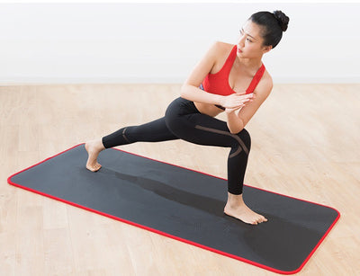Gyming Exercise Workout Pilates Mat Thick