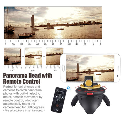 360 Electric Panorama Ball Head