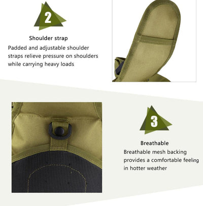 Lightweight Shoulder Sling Day-Pack