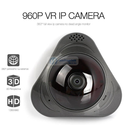 Fisheye Wireless Wifi Smart 360 camera