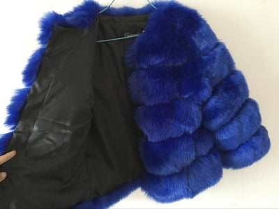 Fashion FAUX Fur Coat