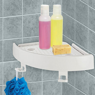 Instant Snap Up Shower Shelf