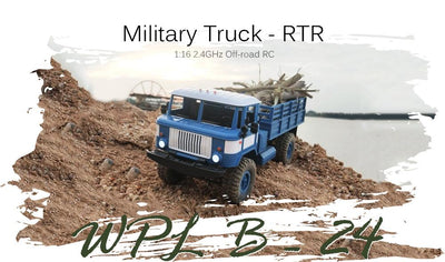 Remote Control 4wd Off Road RC Military Truck