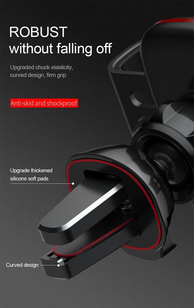 Universal Car Phone Holder For iPhone X XS Max Samsung Huawei Car Air Vent