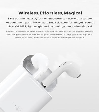 Wireless Earbuds with Charging Case - Bluetooth Earphones - for Iphone