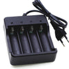 Charger for 18650 Li-ion Battery with Four Slots