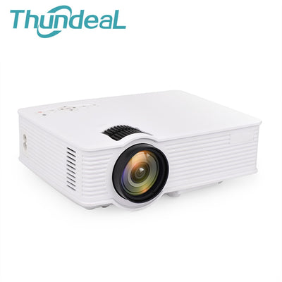 Mini HD Portable LED Projector with HDMI USB