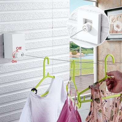 Retractable Stainless Steel Clothesline