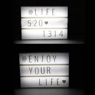 Diy Theater Lightbox