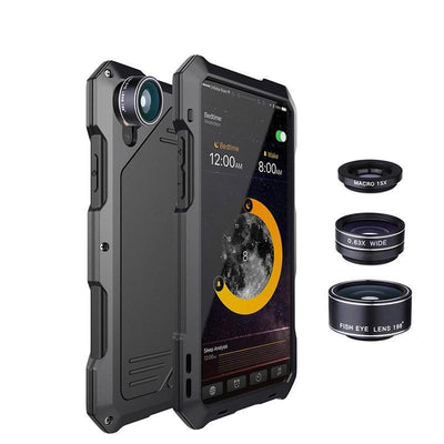 3 IN 1 Wide Angle Fisheyes Lens Phone Cases