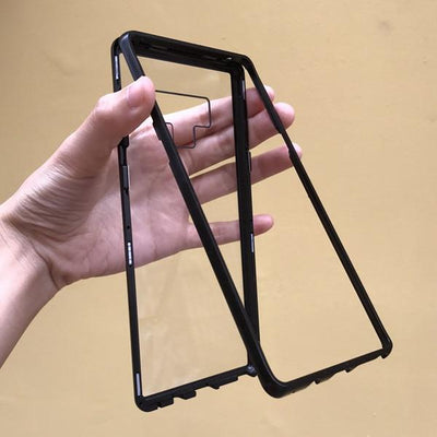 Magnetic Case Build-in Magnet Absorption Cover for Samsung Galaxy Note 9 8 s8 S9 Plus S7 Edge