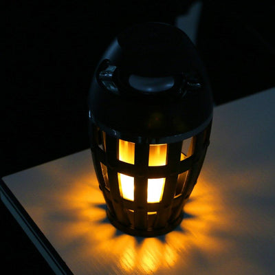 Waterproof Led Flame Lamp With Bluetooth Speaker