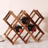 Wooden Red Wine Rack 3/6/10 Bottle
