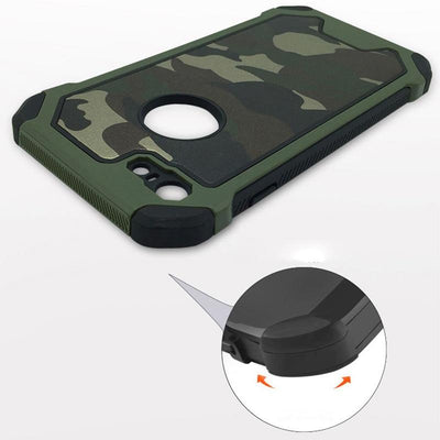 Military Armoured Phone Case For iPhone 5 /5s /SE /6 /6S /6 Plus /6s Plus/7 /7 Plus /8 /8 Plus / X / XS/ XR/ XS Max