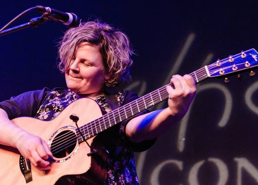 Anna Massie, trading the lamb for the guitar!