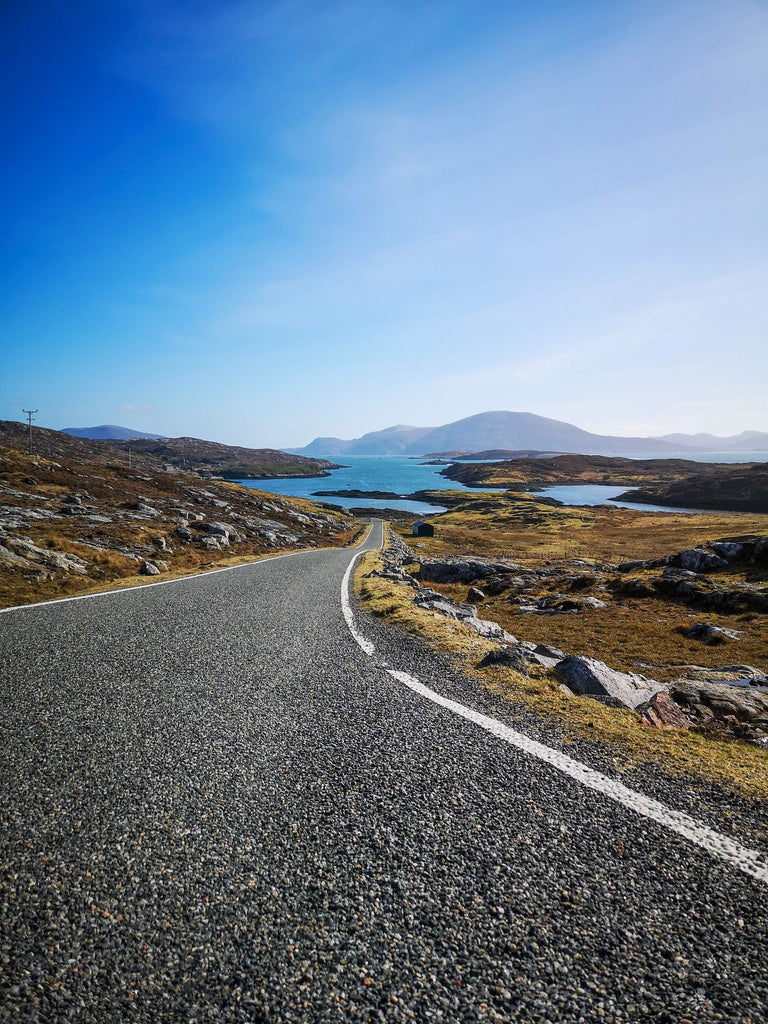 Quiet roads leading to quiet beaches. Image © Shona Maclennan