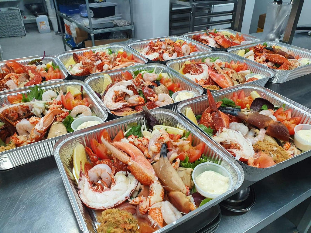 A seafood feast delivered to the people of Nairn.