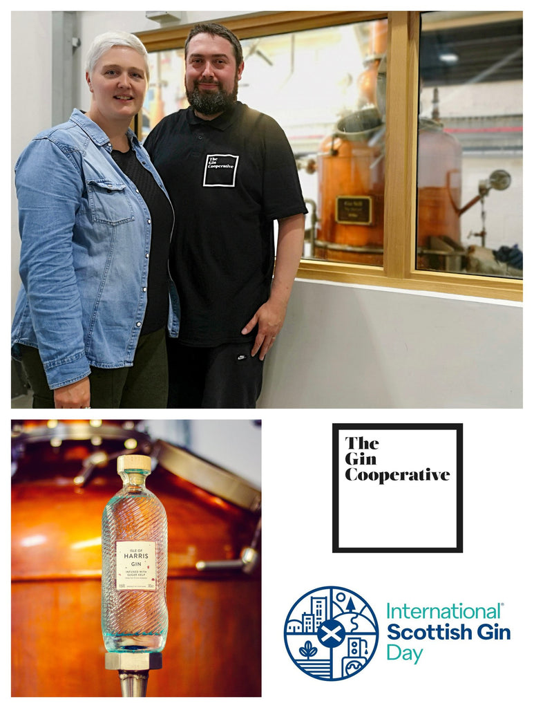 Natalie & Martin Reid organisers of International Scottish Gin Day
