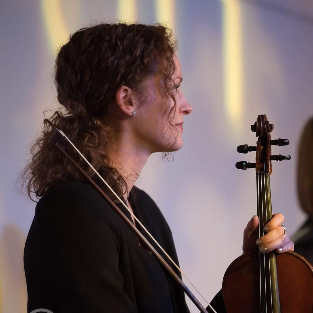 Shona Masson, talented fiddle player from the Isle of Skye