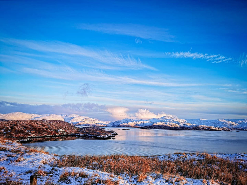 Winter days from the east coast of Harris. Image © Peter Kwasniewski