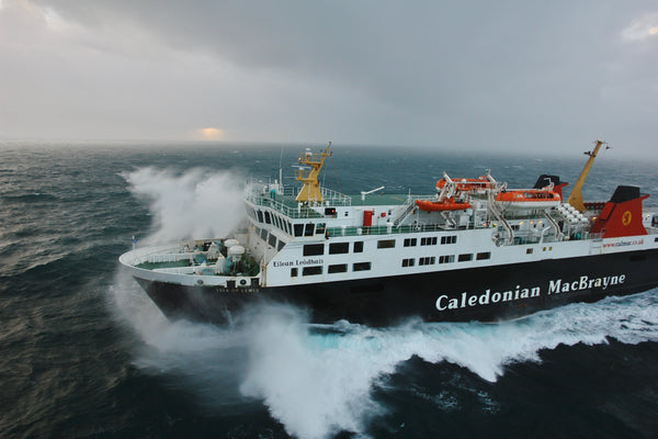 Crossing The Minch, leaving the Outer Hebrides. © Chris Murray