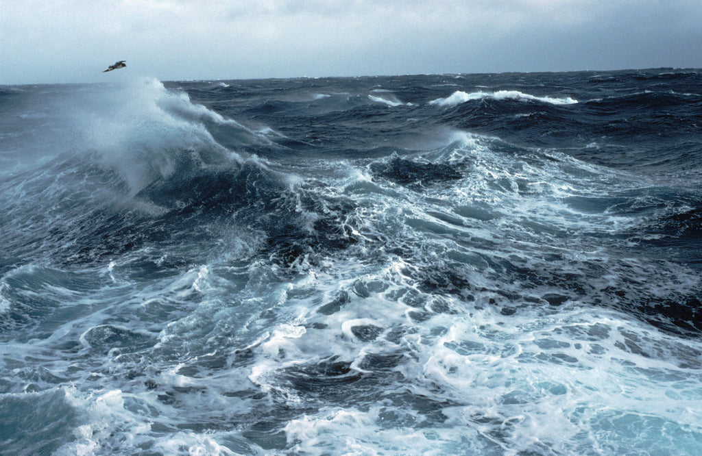 The cold, wild seas of The Minch.