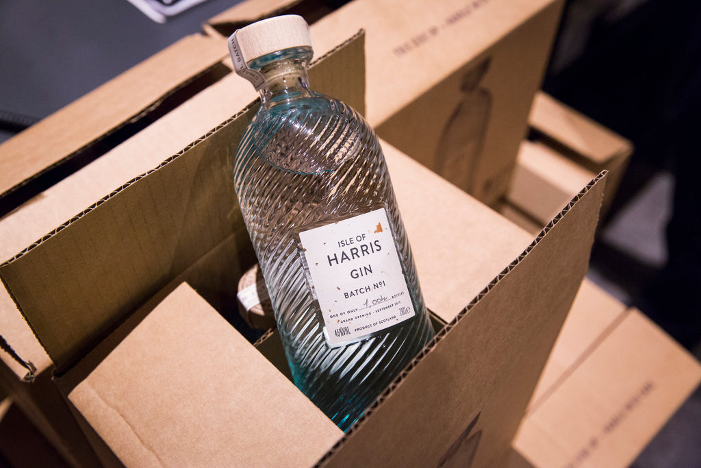 Isle of Harris Gin, Batch No.1 from September 2015