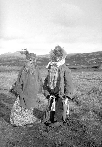 Halloween in South Uist, 1930s by Margaret Ann Shaw © Canna House Photographic Collection