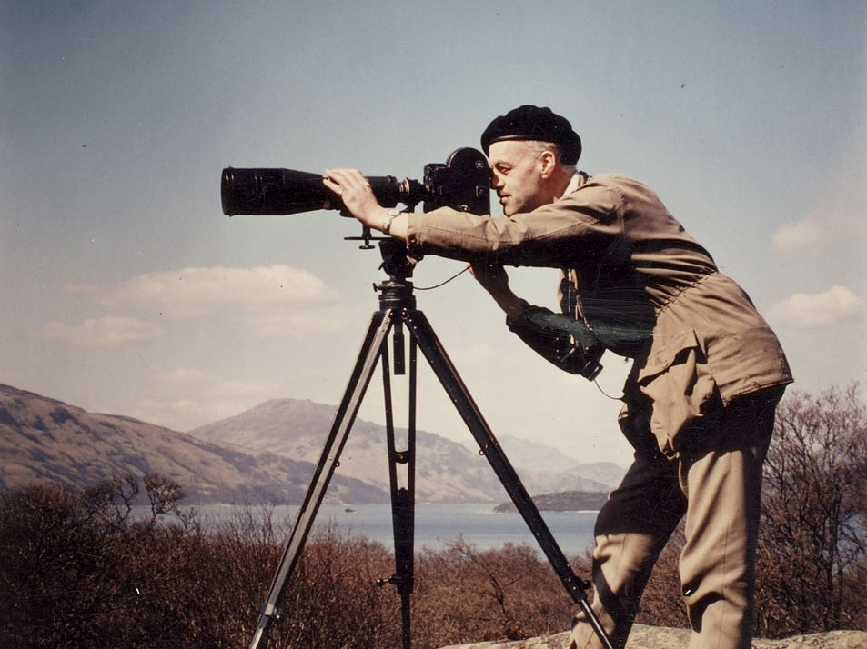 Cinematographer and naturalist Christopher Mylne (1927 - 2017)