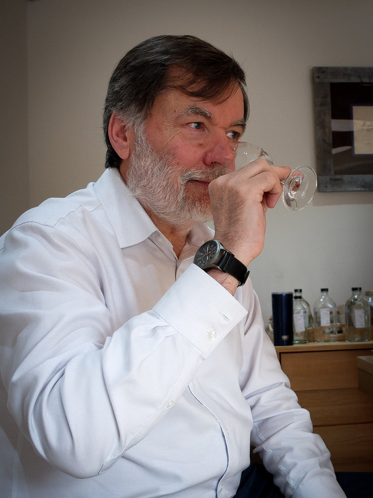 Gordon Steele noses another dram.