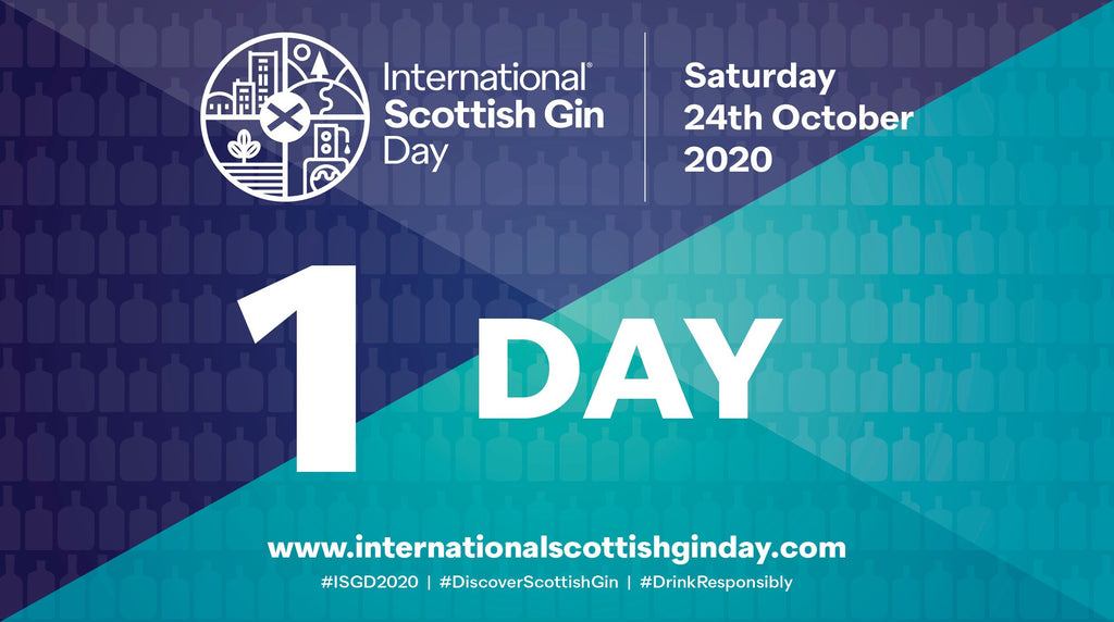 International Scottish Gin Day - Saturday 24th October 2020