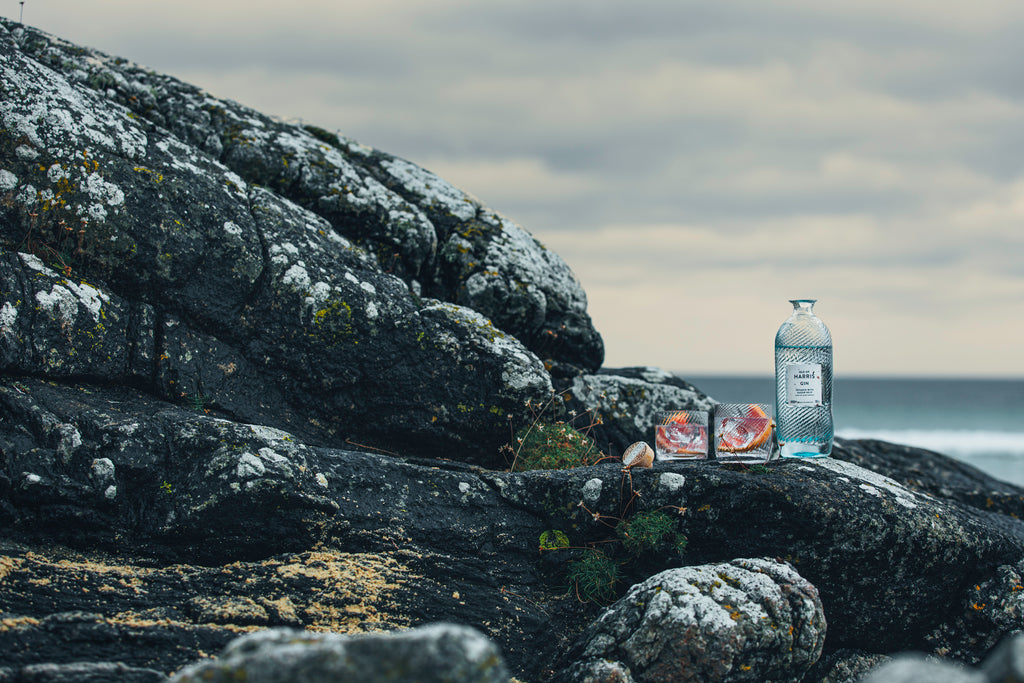Enjoy Isle of Harris Gin 'on the rocks' this winter.