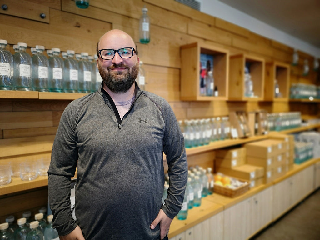 James from Bright 3D who created our distillery interiors.
