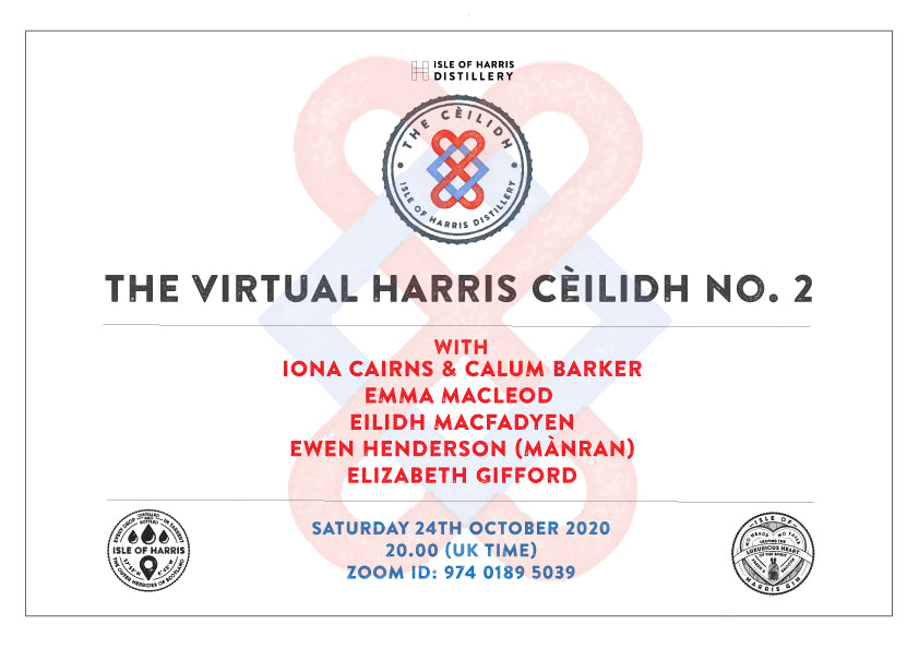 Our second virtual cèilidh is tomorrow night at 8pm.