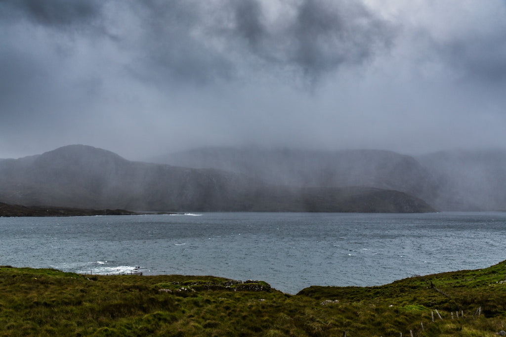 Weathering storms, Isle of Harris.