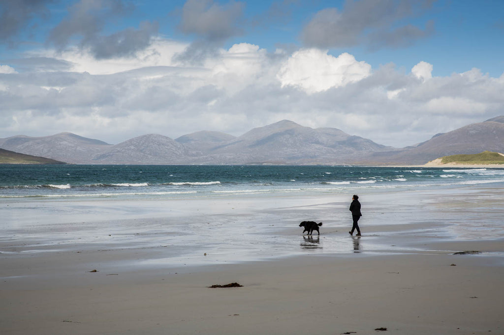 Taking some time to reconnect in isolation. Luskentyre, Isle of Harris.