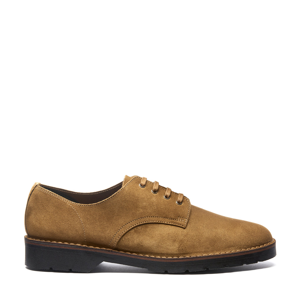 Tan Suede 4 Eye Gibson Shoe