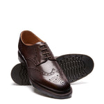 Ebony 4 Eye Gibson Brogue Shoe