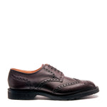 Burgundy 5 Eye Gibson Brogue Shoe