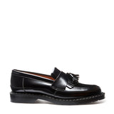 Black Hi-Shine Tassel Loafer