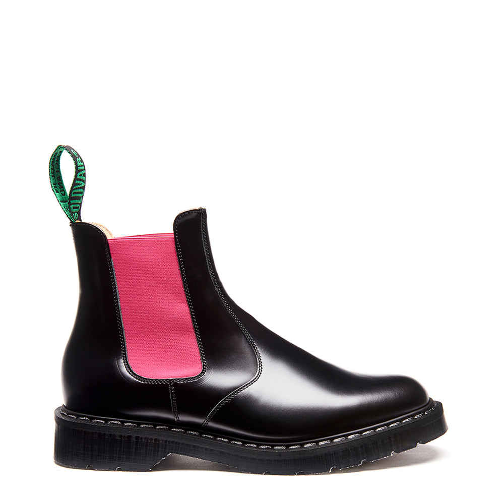 Pink & Black Dealer Boot