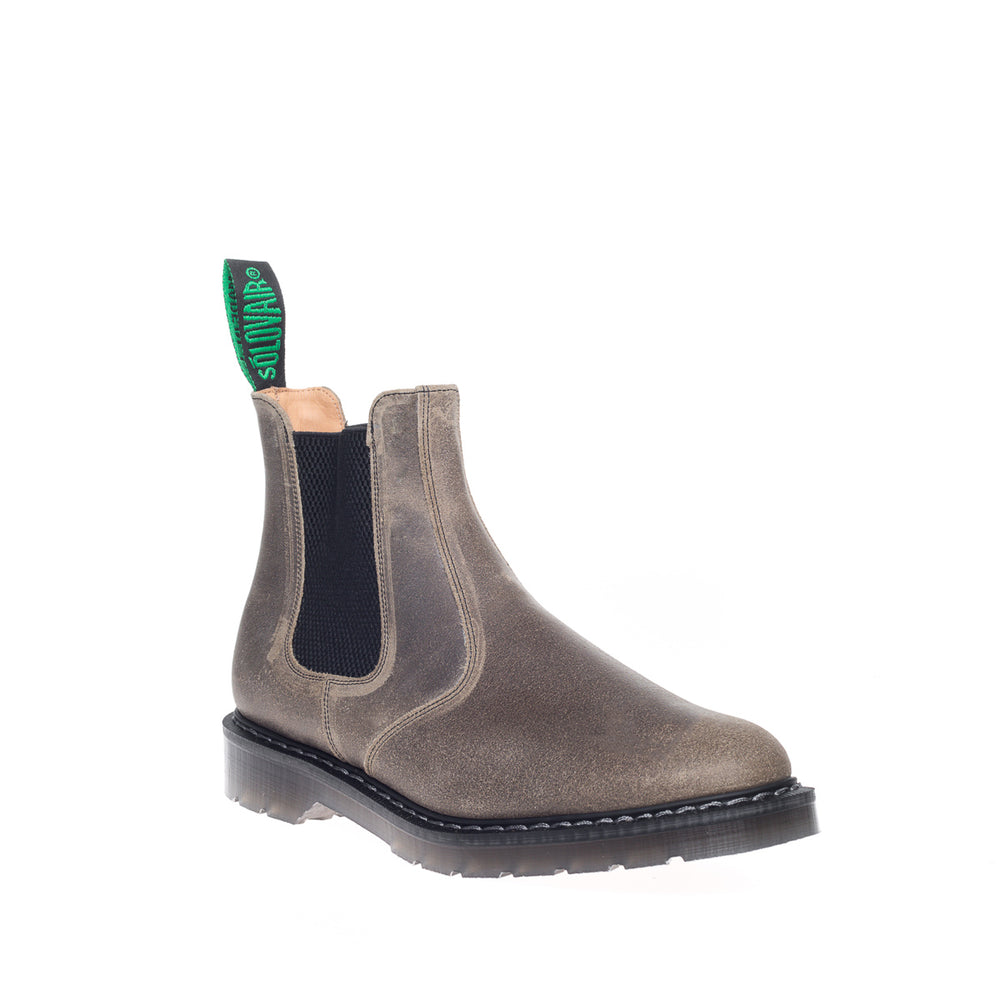 Stone Grey Waxy Dealer Boot