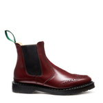 Oxblood Punched Dealer Boot