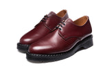 Oxblood Hi-Shine Gibson Shoe