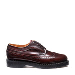 Burgundy Rub-Off American Brogue Shoe
