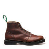 Nut Brown Grain 6 Eye Astronaut Boot